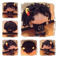 Chibi Karkat Plushie from Homestuck by Art-in-motion-1