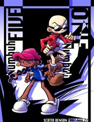 Numbuh One and Five by Re3andScotty
