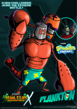 Nicktoons - Plankton (Voter's Choice #1) by NewEraOutlaw