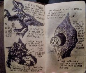 Raptors, Seafood and Quaggans (Diary 17) by Dr4wner