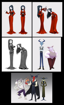 Pixie The Devil's Daughter - Characters by CottonValent