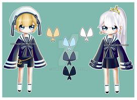 OTA Sailor twin adoptables [OPEN] by yunpi