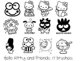 Hello Kitty and friends by Sneaks77
