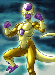 Golden Freeza by noumenus