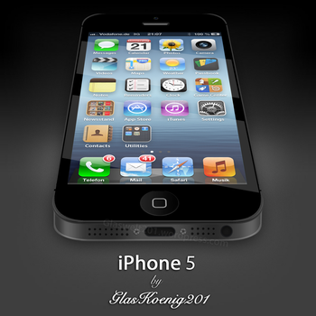 iPhone 5 by GlasKoenig201
