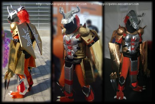 Wargreymon cosplay by Yurai-cosplay