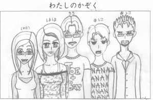 My Family Picture by Lovepiko