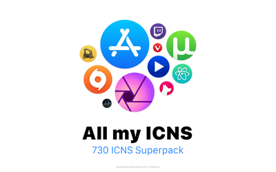 All my ICNS by octaviotti