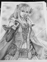 Final Fantasy Brave Exvius - Fina by leon7929