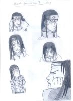 Neji practice sheet by DeKayHawk