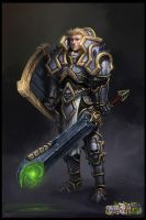 Heavy armor concept by RogierB