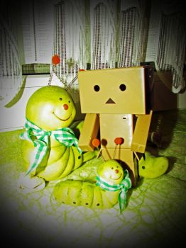 Danbo and some Friends .. by DragonSouL7