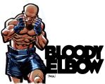Bloody Elbow by urban-barbarian