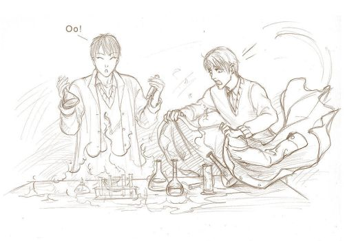 Chemistry lesson by Elruu