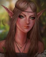 Elf by Kittrix