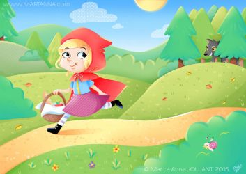 Little Red Riding Hood - once again by yuki-the-vampire
