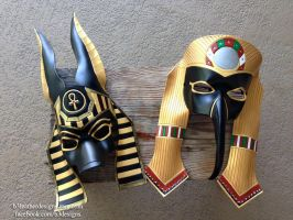 Anubis and Thoth by b3designsllc