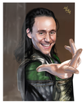 Loki-Do you want to trust me? by LadyMintLeaf
