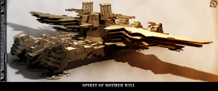 Spirit of Mother Will by Enigmatic-Zephyr