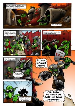 GROT UPRISING COMIC Page 4 by Proiteus