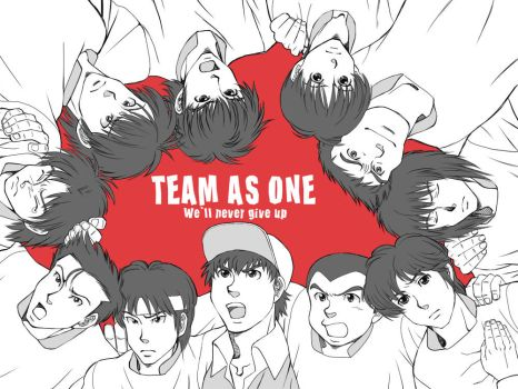 TEAM AS ONE 2 by getakichi