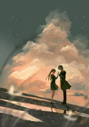 Trying to cross a gap - Daily Spitpaint by mohn-blume