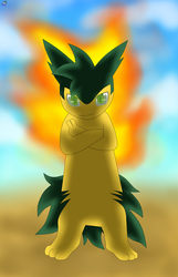 Theo the typhlosion [AT] by DaveJr10
