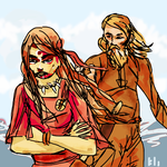 The Marriage of Skade and Njord by PeKj