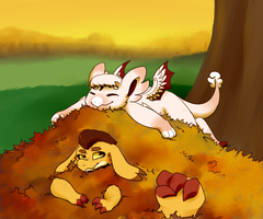 Fall is Here by KASAnimation