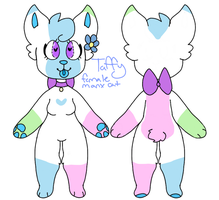 Taffy ref sheet by PastelPuggles
