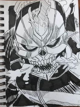Ghost Rider (2016 Comic) by Gaming-Master