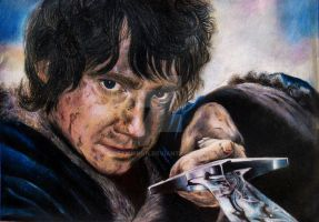 Bilbo Baggins (Martin Freeman) by ElMishkn
