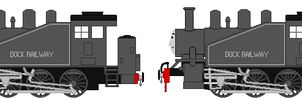 Dock Railway's 0-6-0 Tank Engine by Austintheredsteam