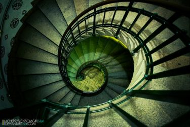 Winding Staircase by aCherryBlossomGirl