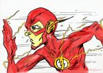 The Flash Colored by jacksony22