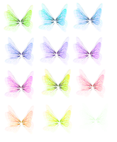 Wing Set 3 png by mysticmorning