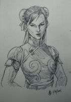 Chun Li, Ms. Badass Lightning Kicker by jaeon009