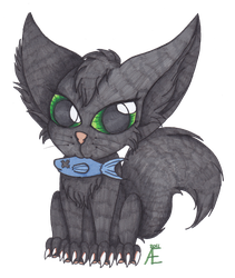 Contest winner prize - Kitty by Adne