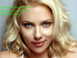 Scarlett Johansson Hypnotizes You by charcomb