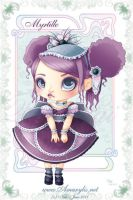 Ice Cream Lolita myrtille by Nailyce
