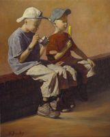Dutch Boys - 14x17 by bbrootip by ericdalrymple