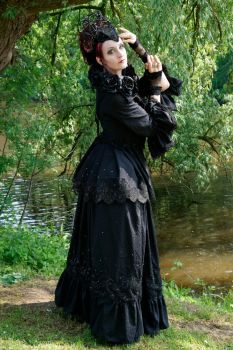 Stock - dark rose gothic queen hand pose by S-T-A-R-gazer