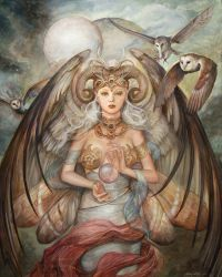 Celestial Muse by PinkParasol