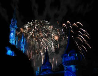 Castle Fireworks Show IMG 1072 by TheStockWarehouse
