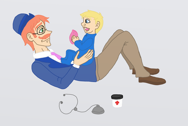 Father and Son by Bella-Who-1