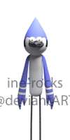 3D Mordecai - Finished by ine-rocks