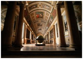 Napoleon 's Library and Globe by stormxxx