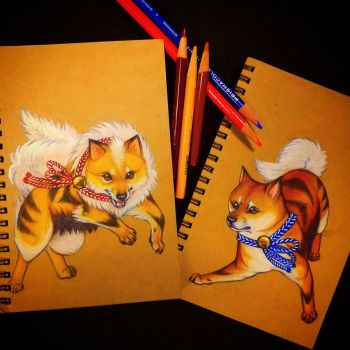 Arcanine booklets by PokeShoppe