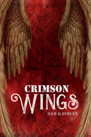 Crimson Wings - Book Cover by KillingStrawberry
