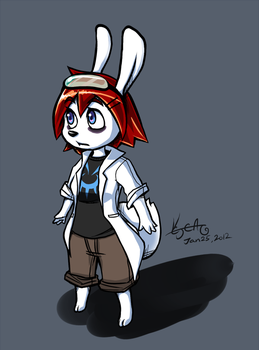 Photon Bunny - Cera by cjcat2266